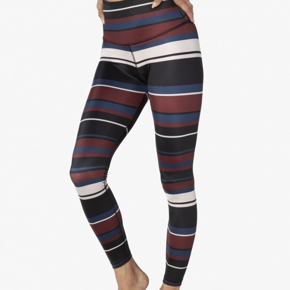 e3650638cd Beyond Yoga Pants | Striped Stylish Active Leggings | Poshmark